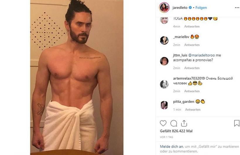 VIP News: Jared Leto ist fast 50 und durchtrainiert wie ein römischer Gott
