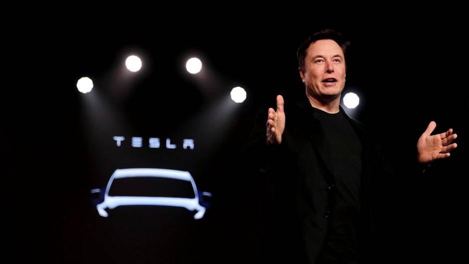 Elon Musk, Gründer von Tesla
