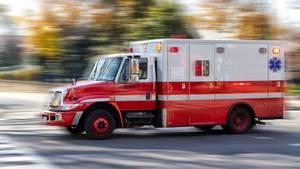 US-amerikanischer Krankenwagen