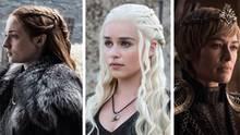 Sansa Stark, Daenerys Targaryen und Cersei Lennister