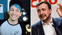 """""""Lass uns reden"""": Warum die CDU nun das Gespräch mit Youtuber Rezo sucht"""