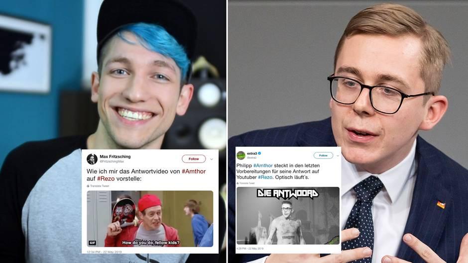 Twitter-Memes zu Rezo-Kritik: CDU sagt Amthor-Antwort ab - doch die Nutzer haben sich das Video längst ausgemalt
