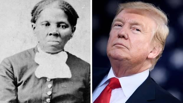 Harriet Tubman und Donald Trump