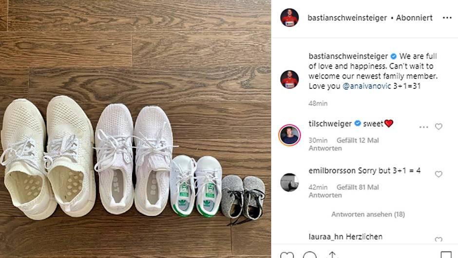 Vip News: Zweites Kind für Bastian Schweinsteiger und Ana Ivanovic