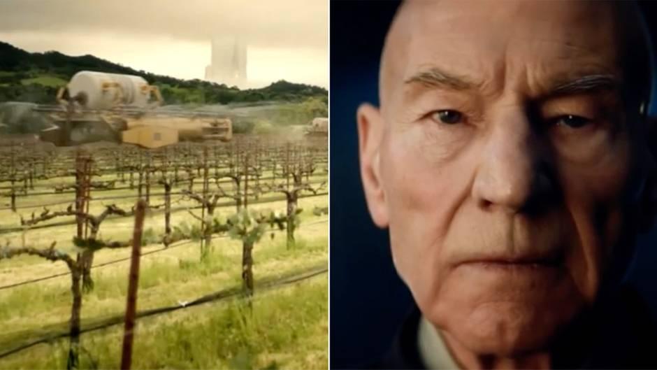 """""""Star Trek: Picard""""-Teaser von CBS: Patrick Stewart kehrt als Captain Jean-Luc Picard zurück"""