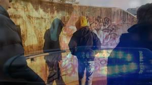 """Luftbild von Wuppertal, wo die """"Gucci-Gang"""" für Ärger sorgt"""