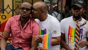 LGBT-Aktivisten in Kenia