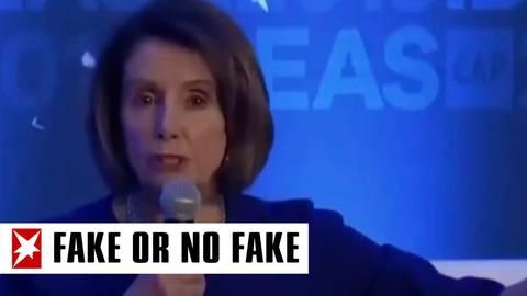 Video geht viral: US-Politikerin Nancy Pelosi lallt betrunken während einer Veranstaltung – das steckt dahinter