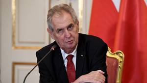 Tschechiens Präsident Milos Zeman
