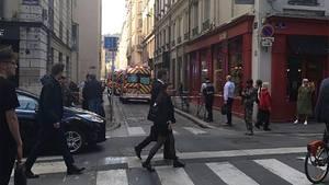 Explosion in Lyon