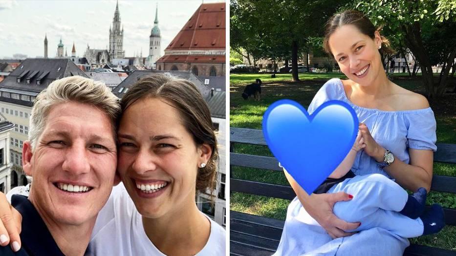 Bastian Schweinsteiger und seine Frau Ana Ivanovic erwarten ihr zweites Kind