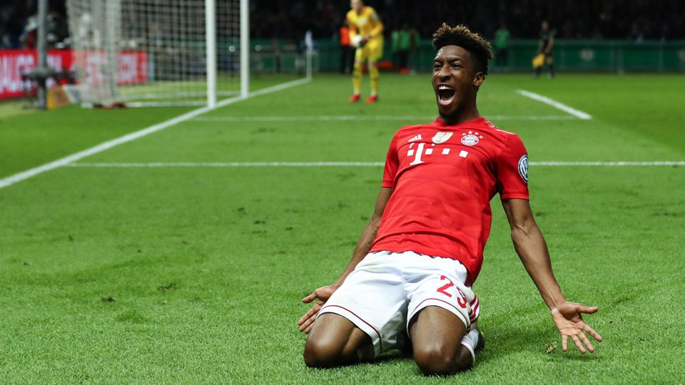 FC-Bayern-Profi Kingsley Coman sorgte mit einem ganz starken Treffer zum 2:0 für die Vorentscheidung