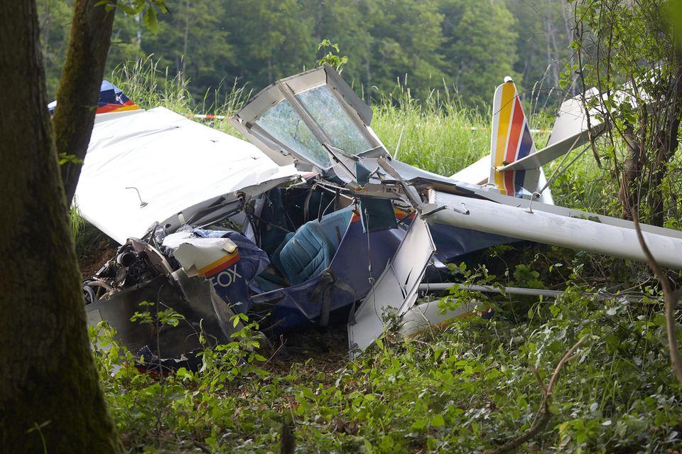 nachrichten aus deutschland kleinflugzeug abgestürzt