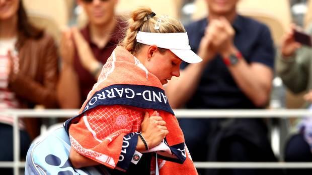 sport kompakt nachrichten kerber scheitert bei french open