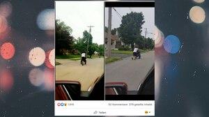 USA: Teenager schiebt blinden Rollstuhlfahrer nach Hause