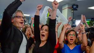 Beste Ergebnisse bei der Europawahl: Die Grünen sind außer sich vor Freude