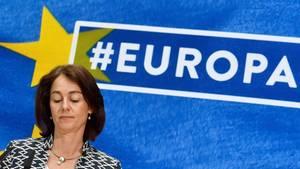 """SPD-Spitzenkandidatin Katarina Barley nach der Wahlschlappe: """"Sind bei Klimaschutz nicht gut aufgestellt"""""""