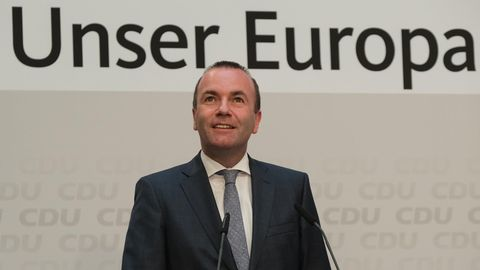 Europawahl: Manfred Weber fühlt sich klar beauftragt