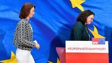 Europawahl: SPD-Spitze äußert sich zu enttäuschendem Ergebnis