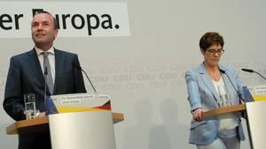 Manfred Weber und AKK - niemand hat soviel verloren wie die EVP