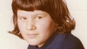 Bayern, Flossenbürg: Das Foto zeigt die damals zwölfjährige Schülerin Monika Frischholz.