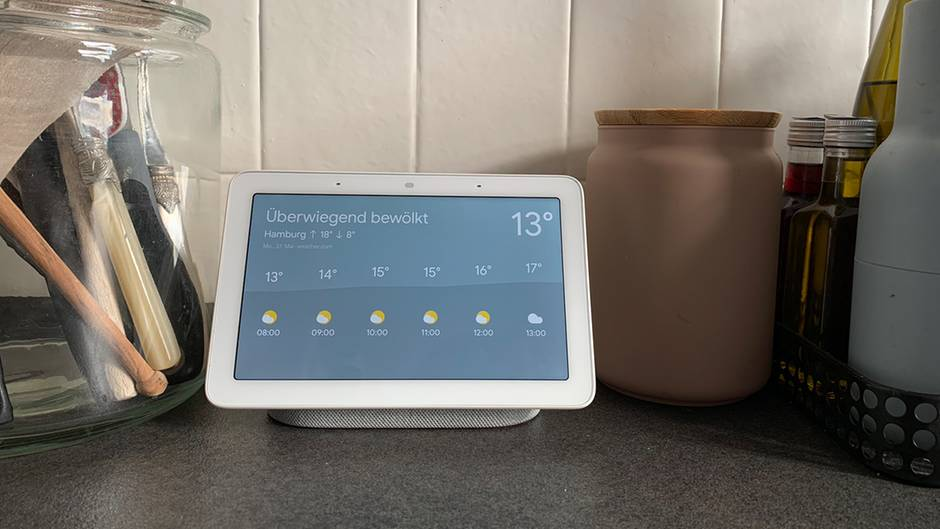 Google Nest Hub im Test: Diese kleine Kiste macht Ihre Küche ...