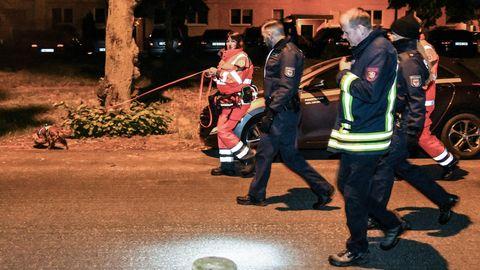 Dutzende Beamte waren am Wochenende im Einsatz, um nach dem sechsjährigen Mädchen zu suchen