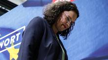 SPD-Chefin Andrea Nahles wurde mit ihrer Partei bei der Europawahl abgestraft