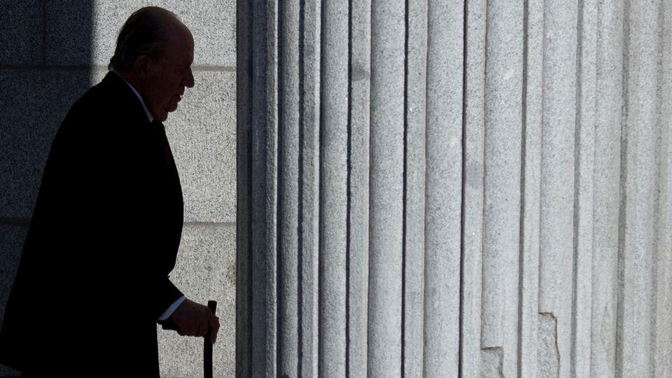 Der frühere spanische König Juan Carlos will sich am 2. Juni aus dem öffentlichen Leben zurückziehen