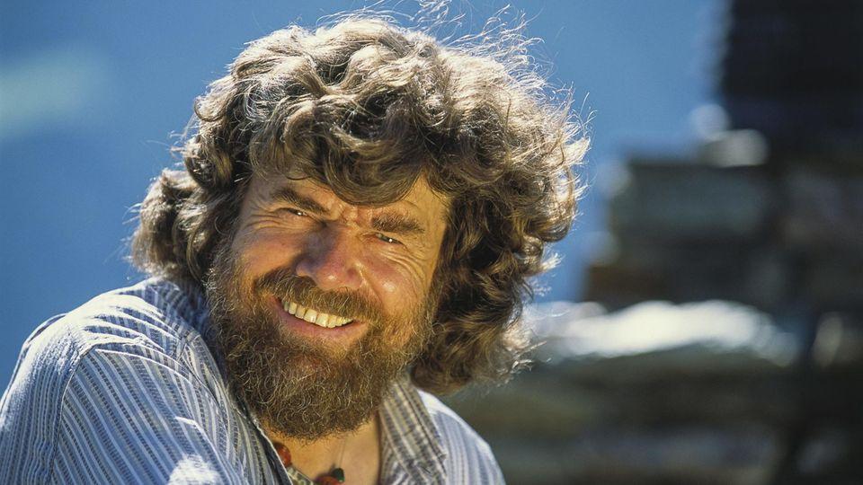 Stand als erster Mensch auf den Gipfeln aller 14 Achttausender: Grenzgänger Reinhold Messner