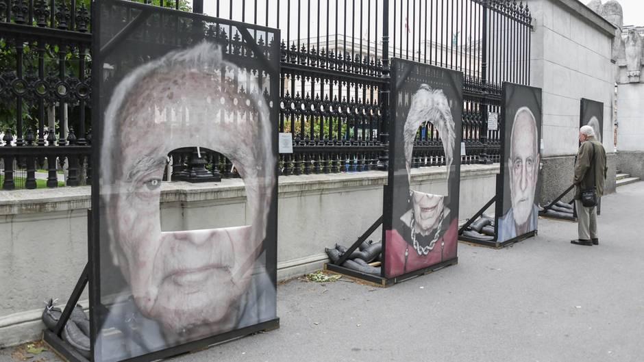 """Wien: Ausstellung """"Gegen das Vergessen"""""""