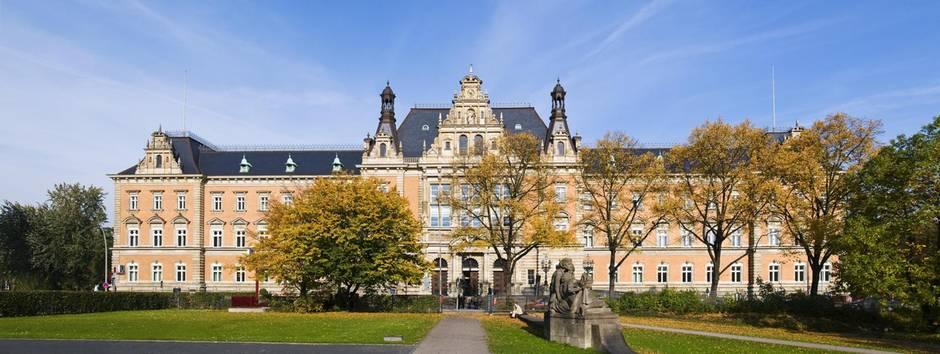 Das Hamburger Strafjustizgebäude