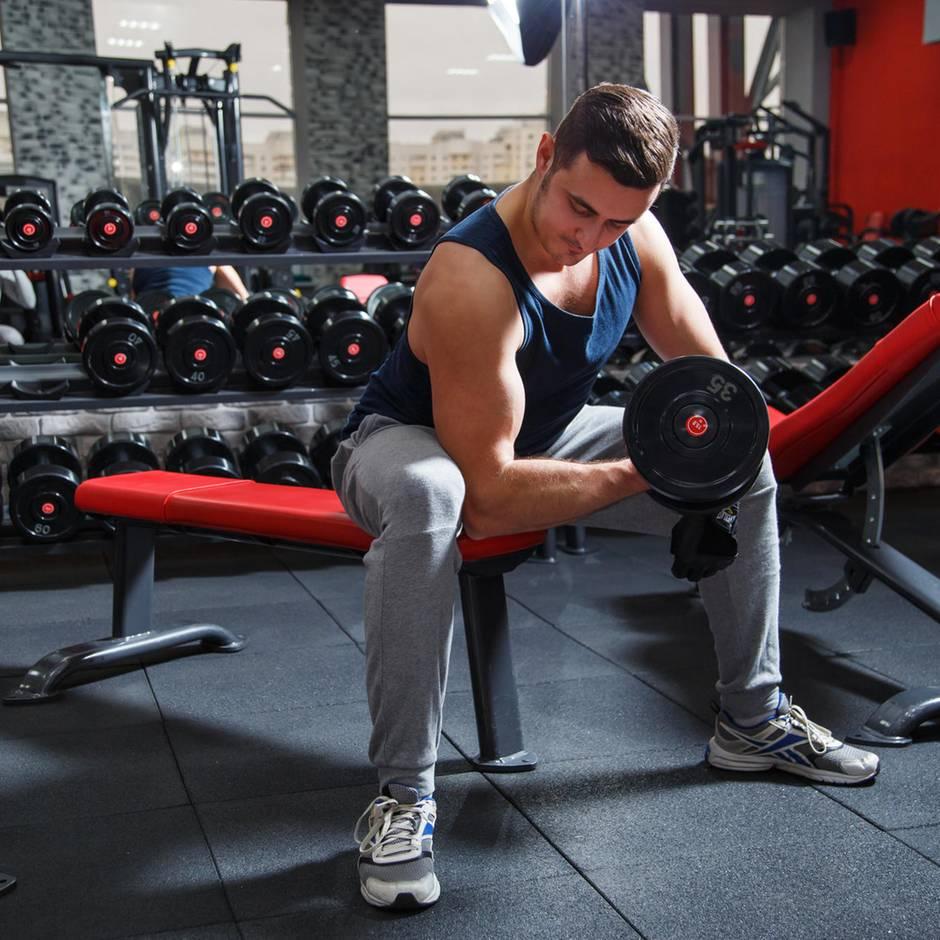 Impotenz-Paradox: Männer, die extrem Muskeln aufbauen, gefährden damit ihre Fruchtbarkeit