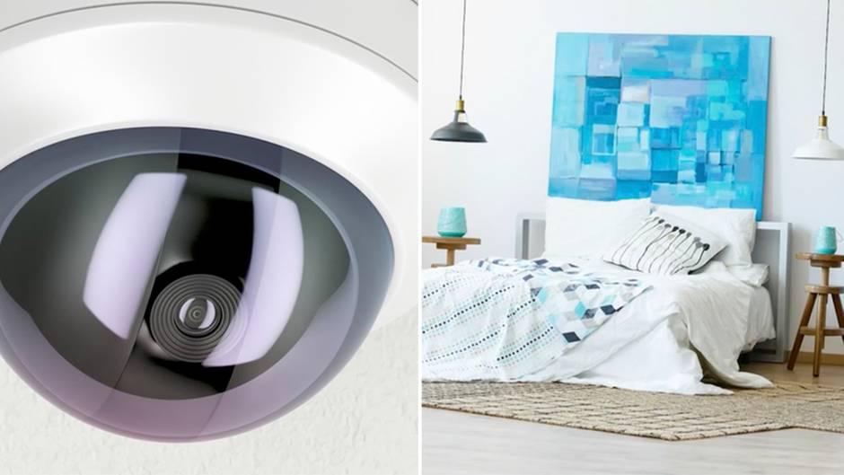Versteckte Kameras: So können Sie sich vor Überwachung in Ihrer Urlaubswohnung schützen