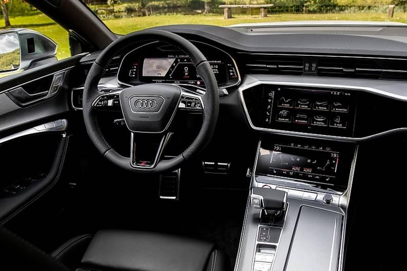 Der Innenraum entspricht dem der anderen A7-Modelle