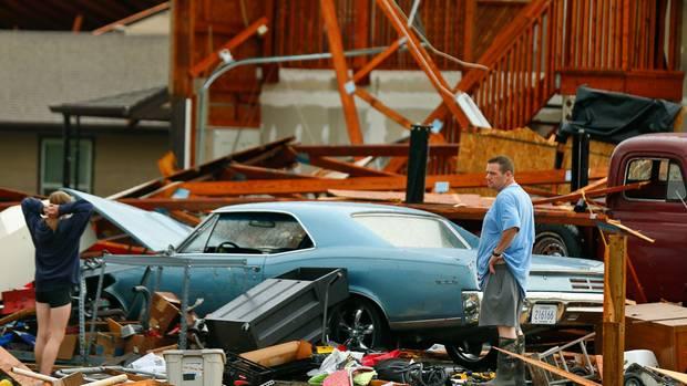 USA: Verwüstungen und Tote nach Tornados und Unwettern