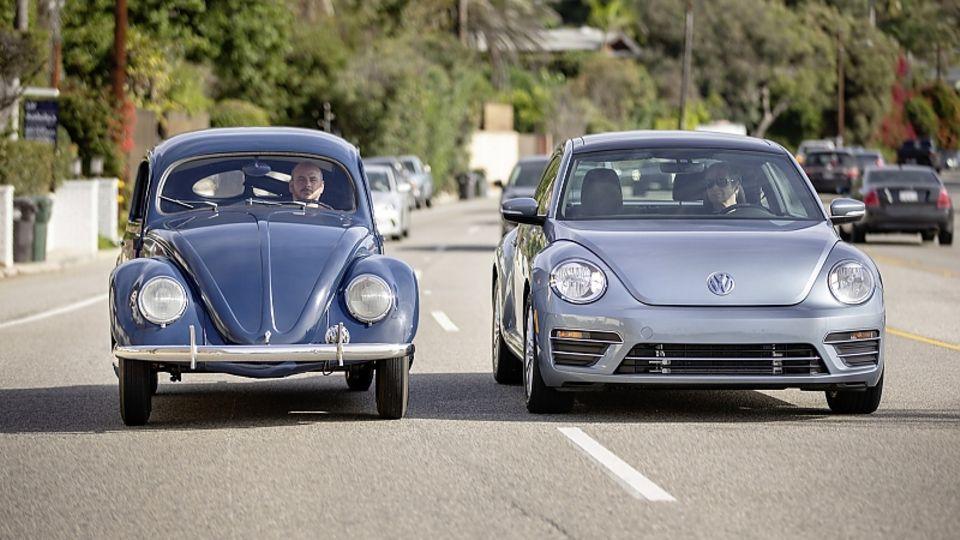 VW Käfer / Beetle - alt und neu