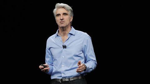 Apples Software-Chef Craig Federighi hält Privatsphäre für eines der wichtigsten Themen