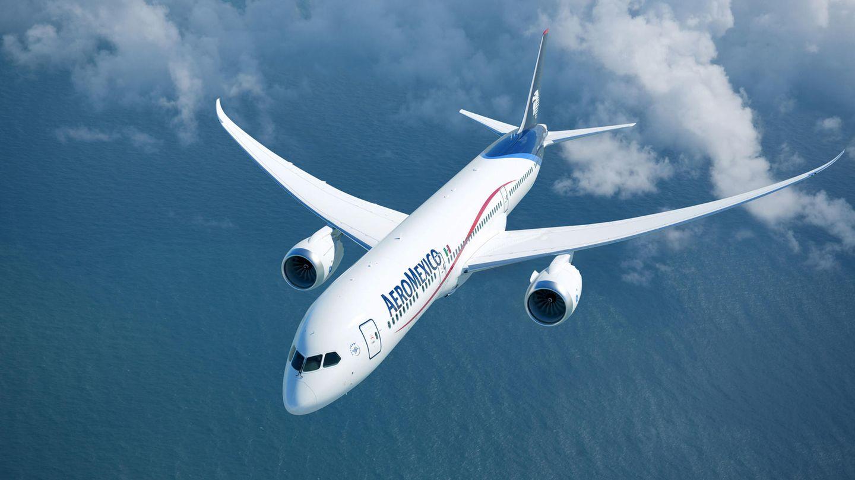 Eine Boeing 787 von Aeromexico: Ein Flugzeug diesen Typs musste auf dem Flug von Mexiko City nach Tokio inHermosillo eineaußerplanmäßige Zwischenlandung einlegen.