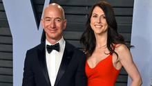 Jeff Bezos und seine Ex-Frau MacKenzie Bezos