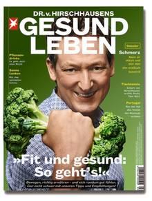Mehr Tischtennis, aktuelles Ernährungswissen und verlässliche Fitness-Tipps im eben erschienenen Heft Dr. v. Hirschhausens stern GESUND LEBEN