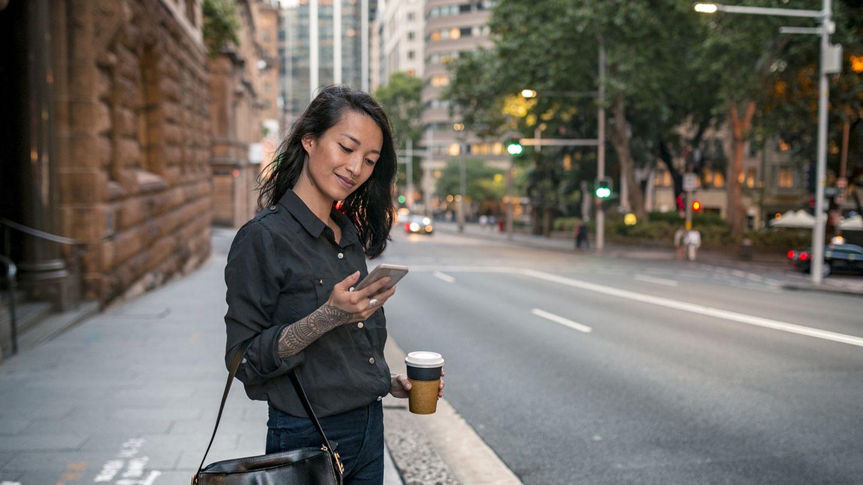 Geschäftsfrau in Sydney:Australien ist für ausländische Fachkräfte besonders attraktiv