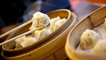 Dumplings mit Hackfleisch/-Garnelen-Füllung