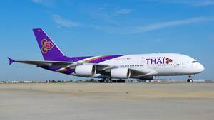 Airbus A380 von Thai Airways