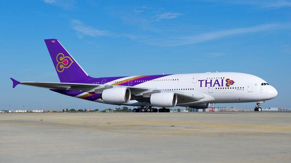 AirbusA380 von Thai Airways