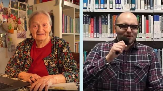 Eine Oma und ein Youtuber