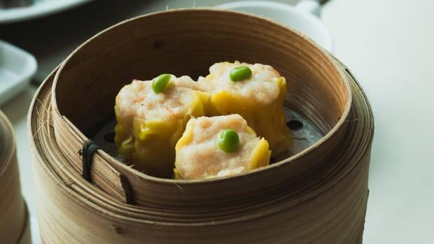 So sehen Dumplings nach dem Garen aus
