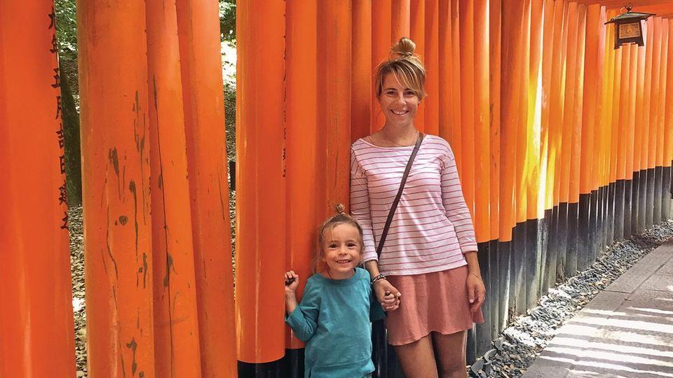 Max und Janina in Japan