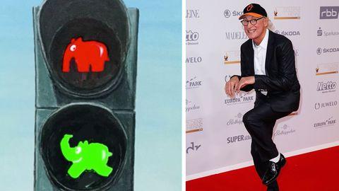 Erst stehen, dann gehen: Elvis, Otto, Kasperle: Die zwölf lustigsten Ampelmännchen Deutschlands
