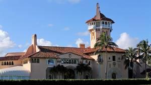 Donald Trumps Residenz Mar-a-Lago: Schon öfter wurden dort Staatsgäste empfangen